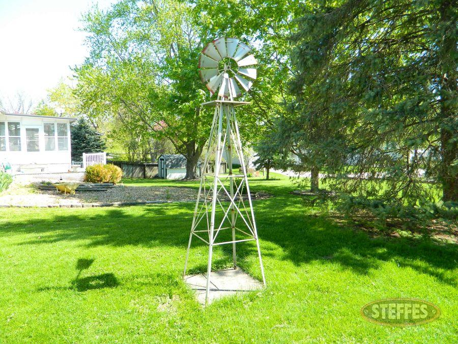 Garden Decorative Windmill, 8' tall