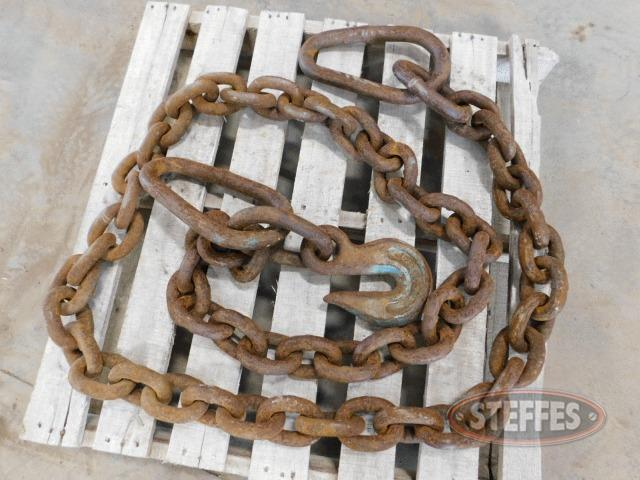 "Heavy duty 10'x3/4""chain"