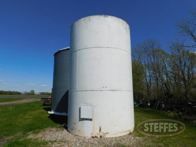 12,000 gal. steel liquid fertilizer tank,