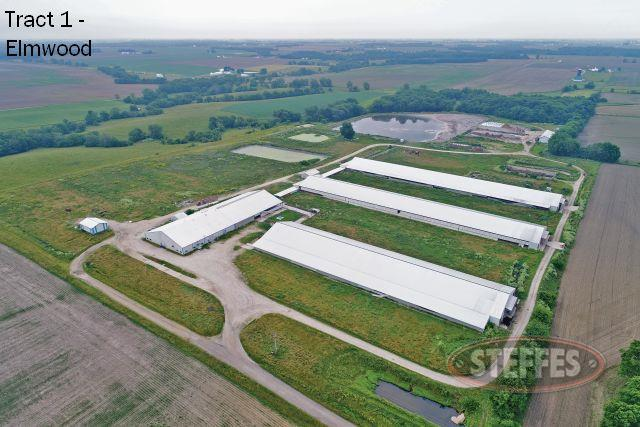 Tract #1: 1,600 Head Dairy on 73.94 Acres M/L