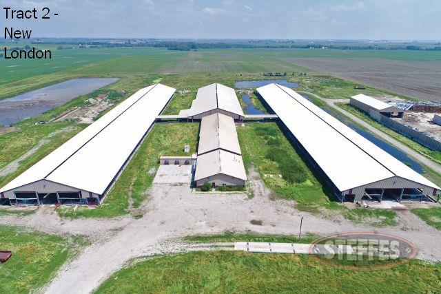 Tract #2: 1,200 Head Dairy on 39.04 Acres M/L