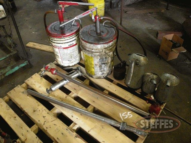 Pallet of oil measuring containers_1.jpg