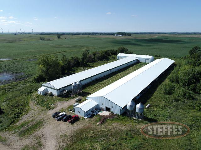 LENDER OWNED POULTRY BARNS GROVE CITY, MN 13+/- Acres