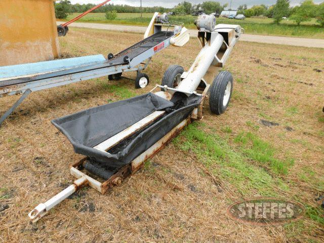 Jump belt conveyor,