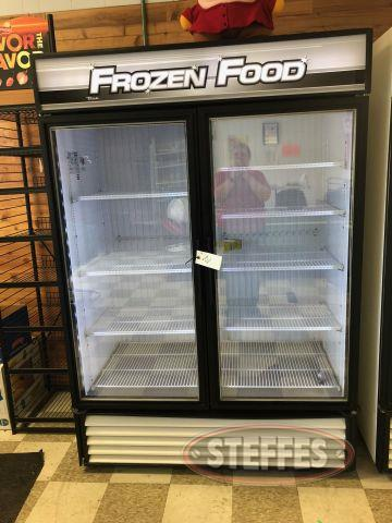 True Manufacturing 2 Door Freezer