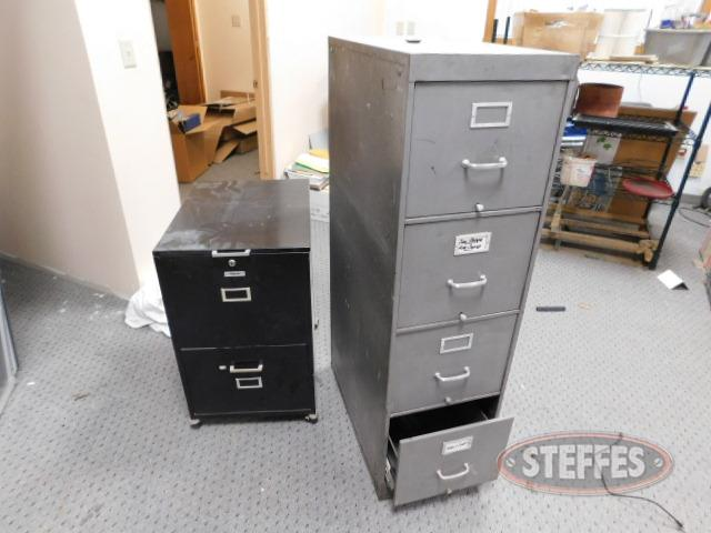 (2)-file-cabinets--4-drawer---2-drawer_1.JPG
