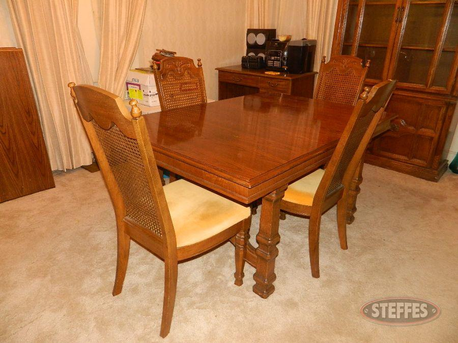 Dining Room Table and (5) Chairs