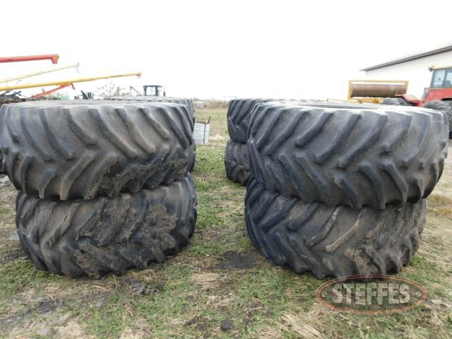 (8) 30.5-32 tires,