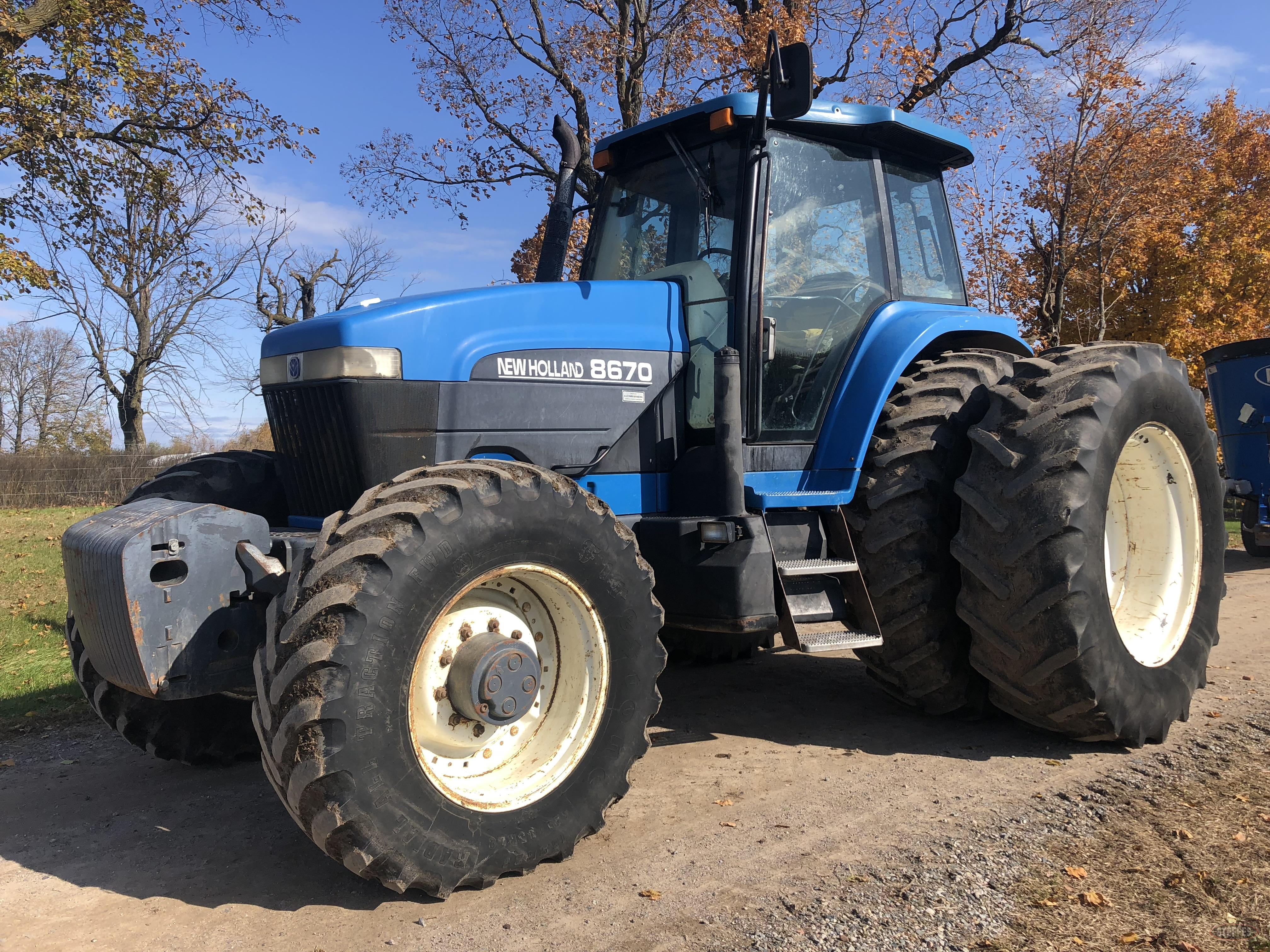 2000 Ford New Holland 8670