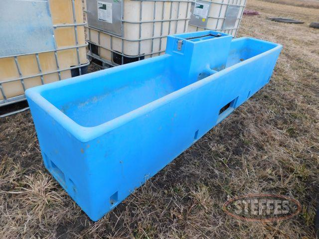 Miraco 2'x12' Automatic Plastic Cattle Waterer
