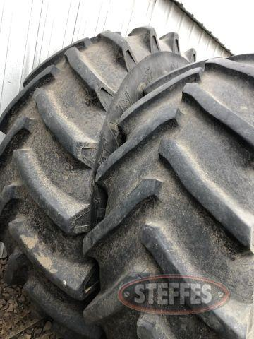 (4) 620/70R46 tires