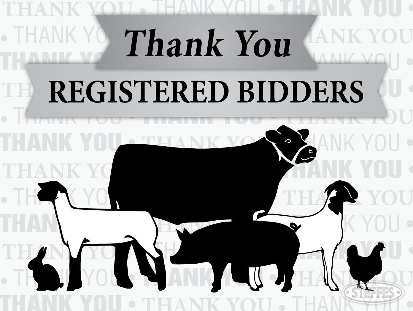 Registered Bidders