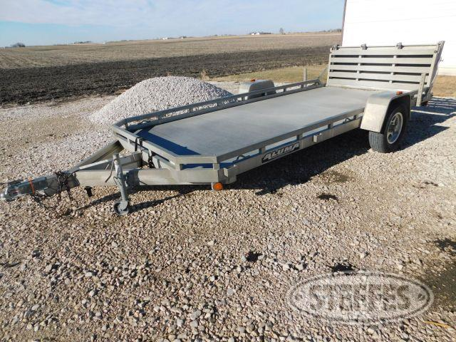 Aluminum Single Axle Trailer