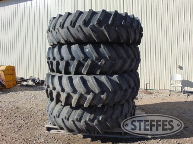 (4) 520/85R46 tires,