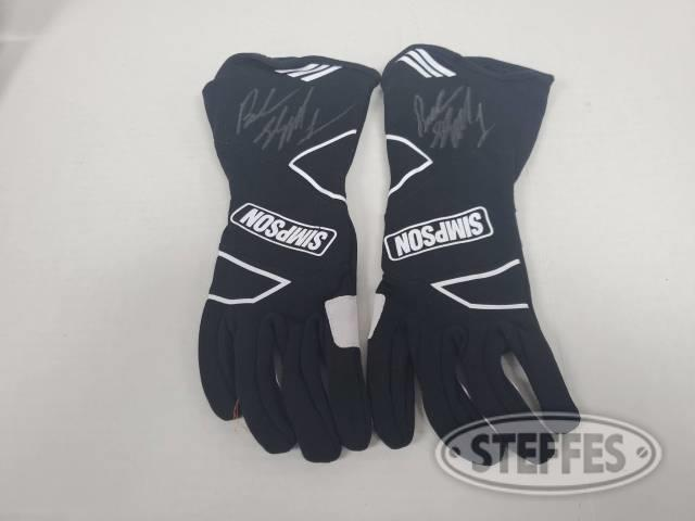 Brandon Sheppard's racing gloves - Autographed