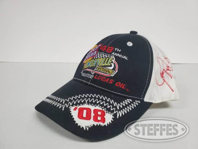 Knoxville Nationals 2008 hat - Autographed