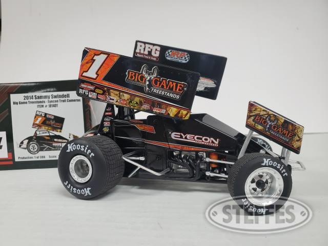 #1 Sammy Swindell 1:18th scale die cast