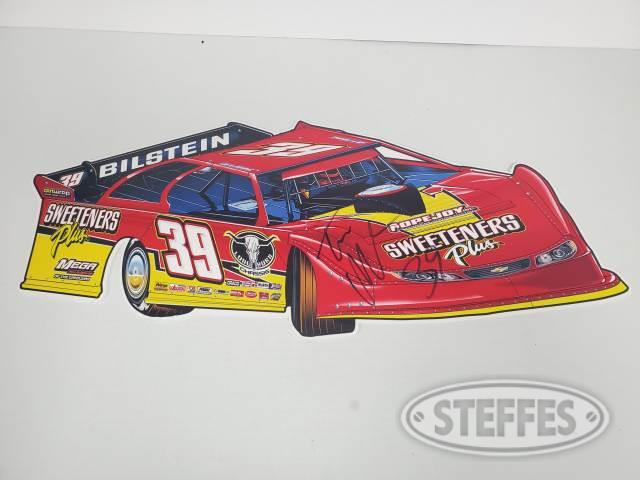 Tim McCreadie Car cutout sign – Autographed