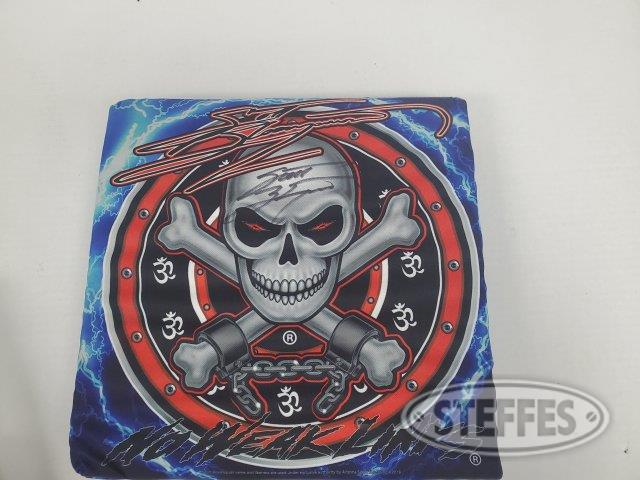 Scott Bloomquist seat cushion – Autographed