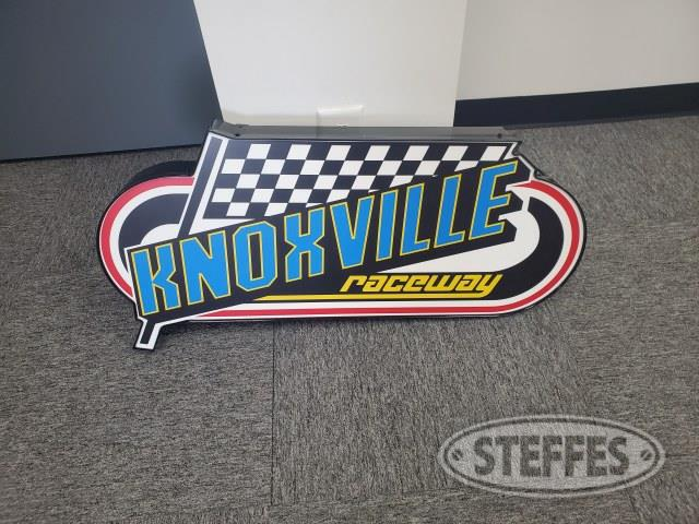 Knoxville Raceway Lighted Sign