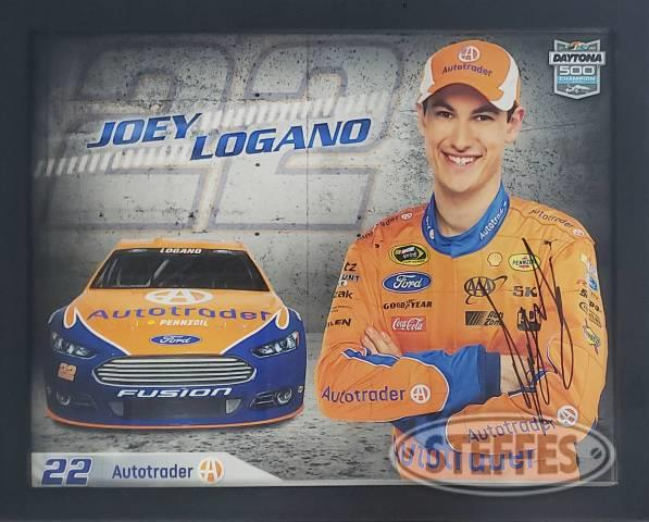 Joey Logano hero card – Autographed
