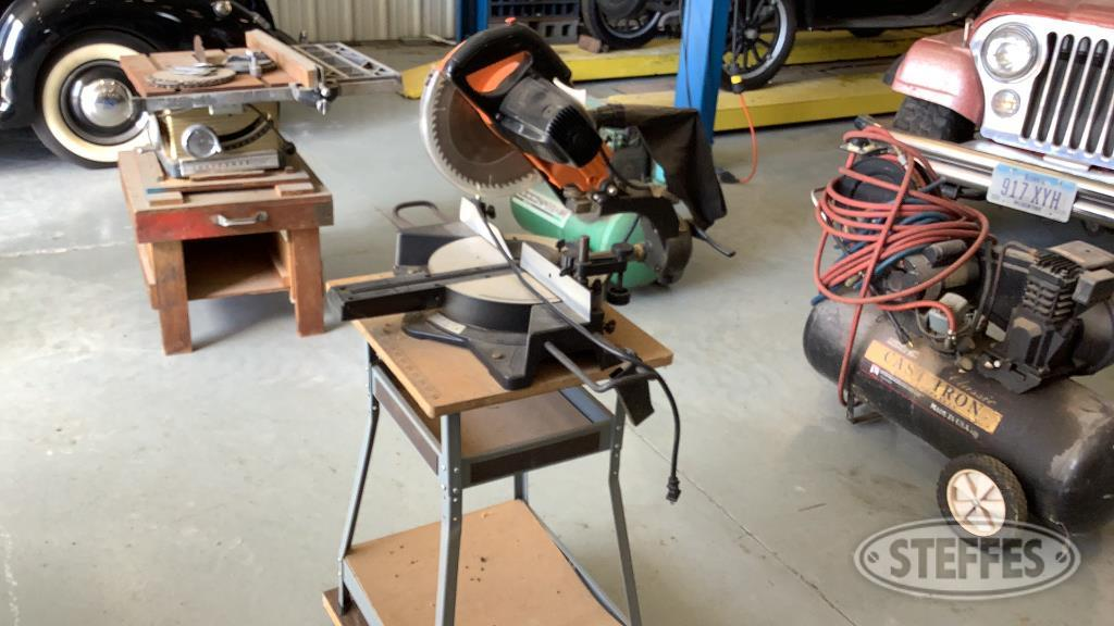 Central Machinery Chop Saw & Stand