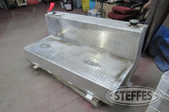 100 gal. L-shaped fuel tank,