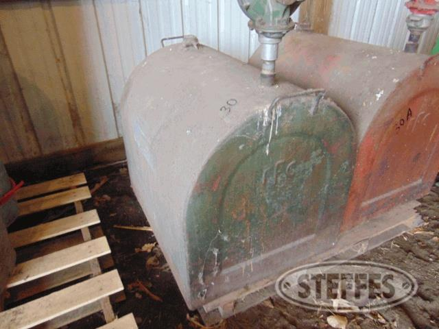 (2) 75 gal. fuel tanks w/hand pumps,