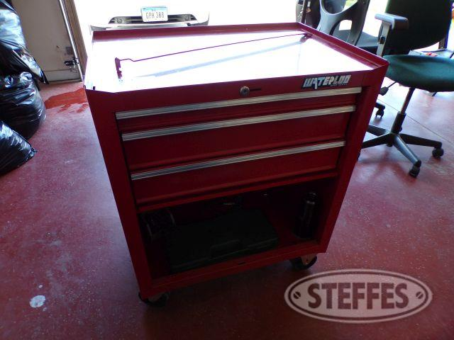 Waterloo 2-Drawer Tool Box w/ Contents